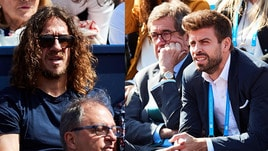 Parterre de rois a Barcellona: anche Puyol e Piqué a seguire Nadal