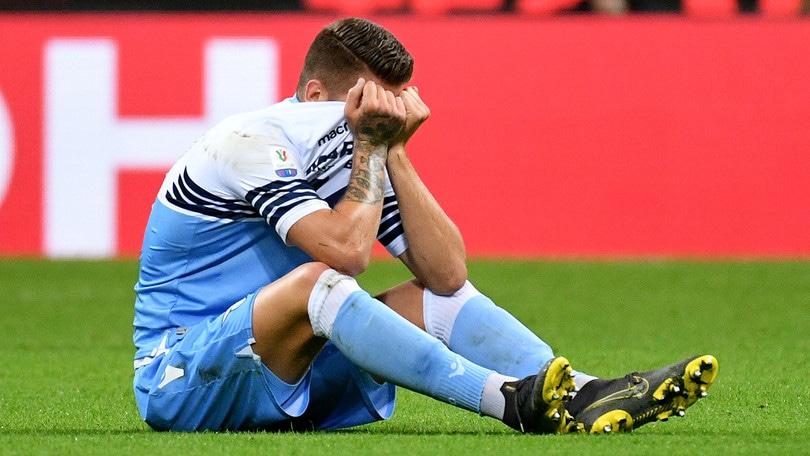 Lazio, Milinkovic: «Spero di tornare per la finale di Coppa Italia»