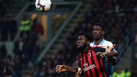 Coppa Italia, buu razzisti in Milan-Lazio: la decisione lunedì prossimo