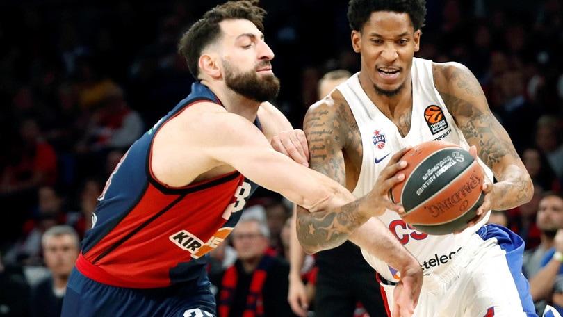 Basket, Eurolega: vincono Anadolu Efes e CSKA Mosca