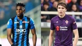 Diretta Atalanta-Fiorentina ore 20.45: dove vederla in tv e formazioni ufficiali