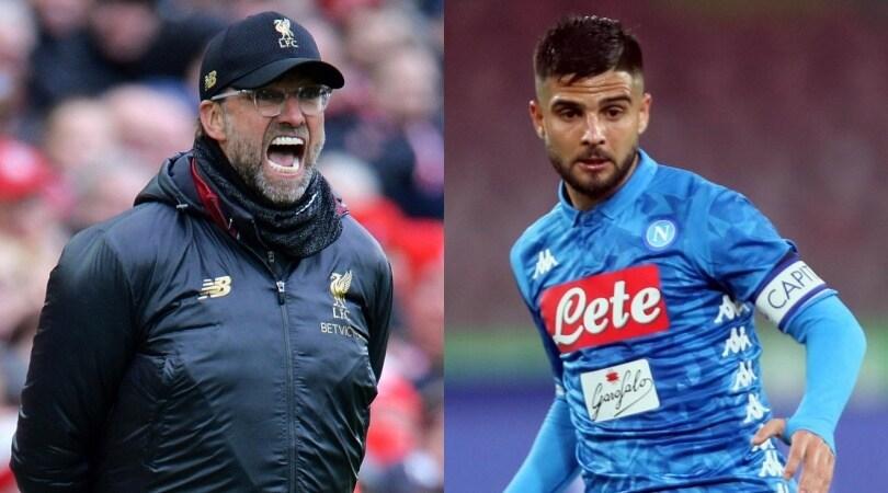 Klopp allontana Insigne: «Non verrà al Liverpool»