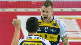 Volley: Superlega, Modena urla: batte Perugia e fa 2-2