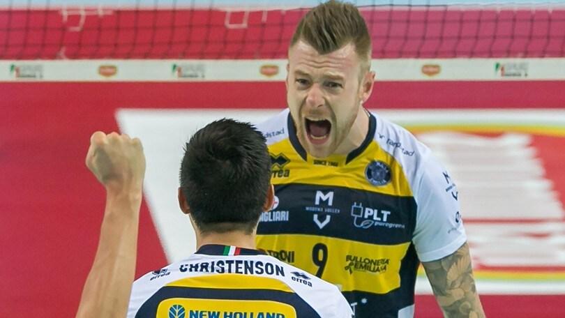 Volley: Superlega, Modena urla: batte Perugia e fa 2-2