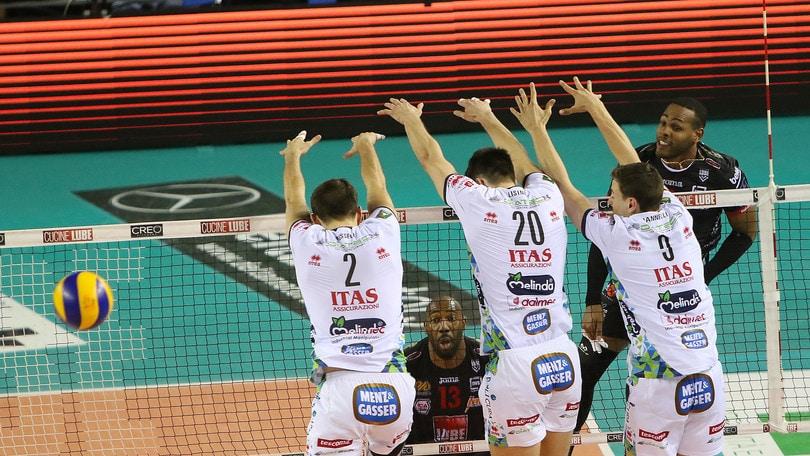 Volley: Superlega, la prima finalista-scudetto è Civitanova