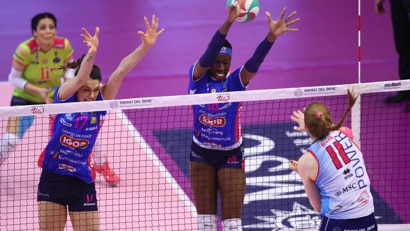 Volley: A1 Femminile, la Finale scudetto è Conegliano-Novara