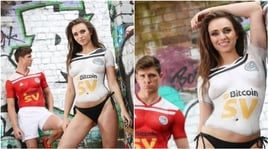 Ayr United, che sorpresa: lanciate le nuove maglie col body painting