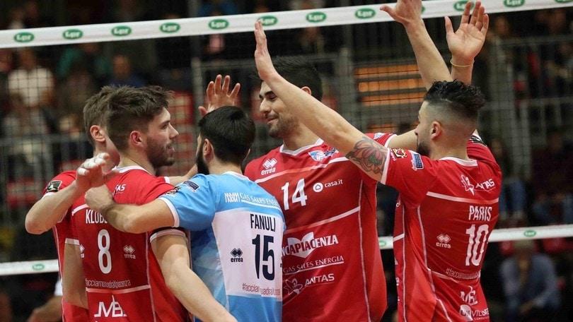 Volley: A2 Maschile, Piacenza e Bergamo iniziano la sfida per la Superlega