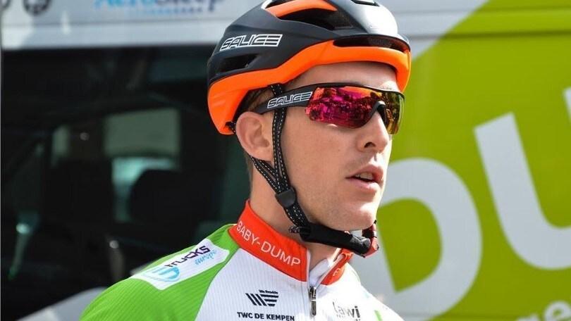 Ciclismo in lutto: è morto Robert De Greef. Aveva solo 27 anni