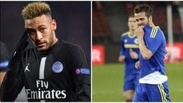 Champions, tre giornate a Neymar. Pjanic salterà Italia-Bosnia