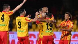 Serie B Benevento-Cosenza 4-2. I giallorossi si avvicinano al Palermo