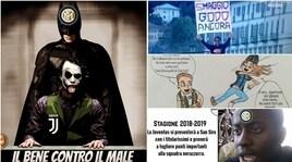Inter-Juve, isocial non aspettano: impazzano le ironie