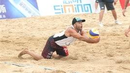 Beach Volley: Rossi-Carambula a Xiamen giocano per il terzo posto