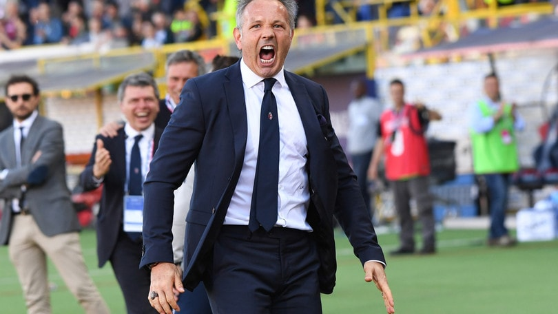 Serie A Bologna, Mihajlovic: «Salvi? Non ancora, bisogna battere il Milan»
