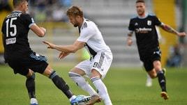 Serie C, l'Entella senza problemi sulla Juventus U23: 2-0 corsaro