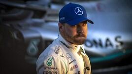 F1 Mercedes, Bottas: «Felice della pole, ma le Ferrari sono forti»
