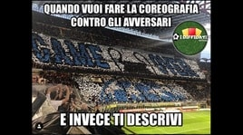 Ronaldo frena l'Inter: sui social i tifosi si scatenano