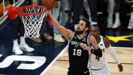 NBA Playoff: gli Spurs di Belinelli eliminati dai Nuggets di Jokic e Murray