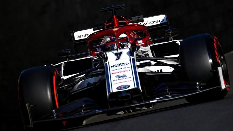 F1 Azerbaijan, Raikkonen partirà dalla pit lane