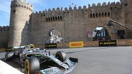 F1 Gp Azerbaigian: ancora doppietta per la Mercedes, Vettel sul podio