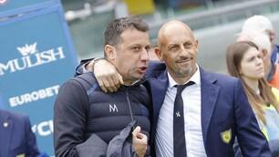 Di Carlo e D'Aversa, 1-1 col sorriso