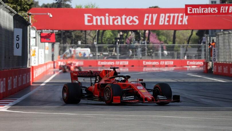 F1 Azerbaigian, Vettel: «C'è molto da fare»