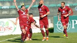 Serie C, la Reggina agguanta i playoff: 2-0 in casa della Vibonese. Rieti salvo: 1-1 con il Monopoli