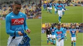 Napoli, i tifosi rifiutano la maglia di Callejon: «Meritiamo di più»