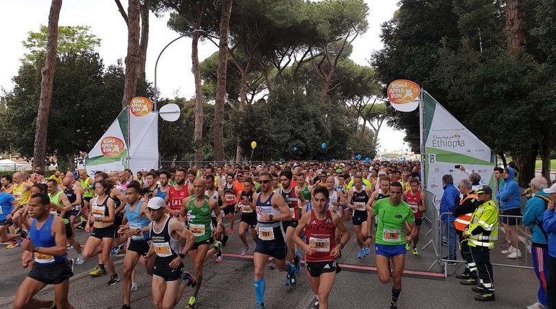 Roma Appia Run: podio maschile tutto marocchino, Inglese seconda tra le donne