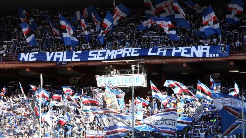 Sampdoria, nuova contestazione contro Ferrero