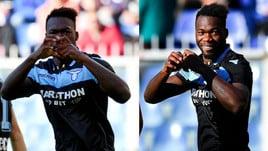 Caicedo trascina la Lazio: doppietta ed esultanza con il cuore