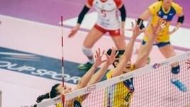 Volley: A2 Femminile, Trento travolge Caserta in Gara 1 di Semifinale