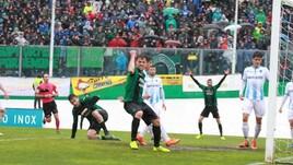Il Pordenone batte la Giana Erminio ed è promosso in Serie B: prima volta per i neroverdi