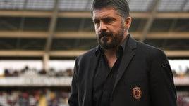 Milan, Gattuso: «Sono il primo responsabile. Futuro? Legato ai risultati»