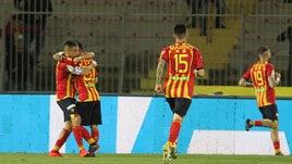 Serie B, il Lecce vince e agguanta il Brescia al primo posto: al Via del Mare è 1-0