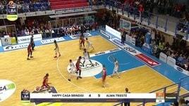 Happy Casa Brindisi-Alma Trieste 85-77