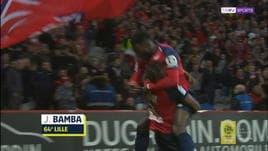 Lille-Nimes 5-0, gli highlights