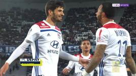 Bordeaux-Lione 2-3, gli highlights