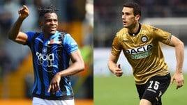 Diretta Atalanta-Udinese ore 19: come vederla in tv e formazioni ufficiali