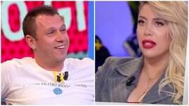 Scintille Wanda Nara-Cassano in tv: «Sei amico di Spalletti»