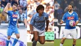 Napoli, ecco la top 10 dei cannonieri in Serie A