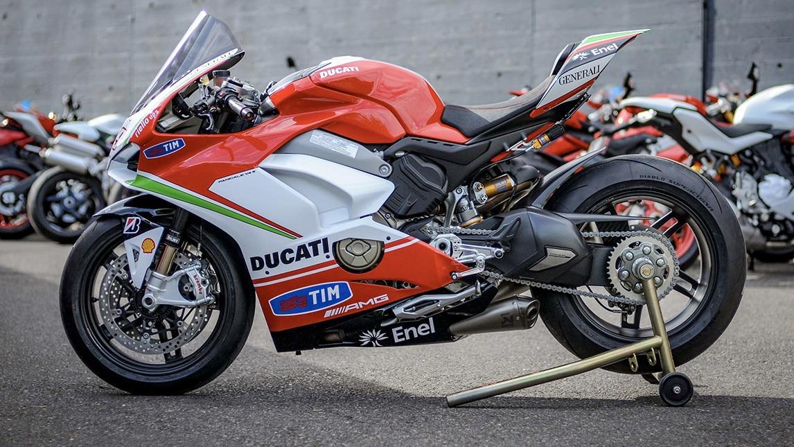 Ducati Panigale V4, tributo ad Hayden. Le Foto