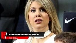 Wanda Nara contro Cassano