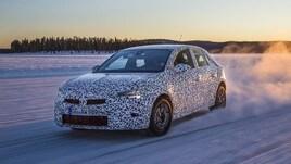 Nuova Opel Corsa, le foto dei muletti