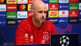 Ajax, Ten Hag: «Buone possibilità di fare bene»