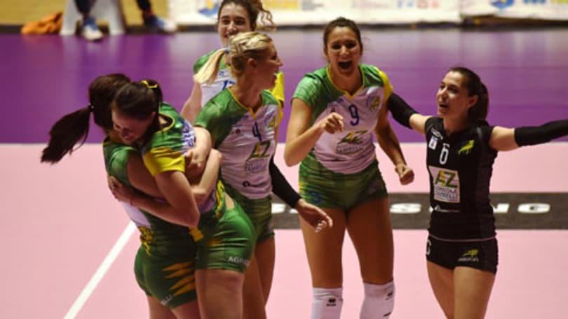 Volley: A2 Femminile, Orvieto corsara a Torino in Gara 1 di Semifinale