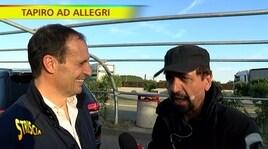 Allegri, Tapiro d'Oro: «Adani? Sono molto arrogante»