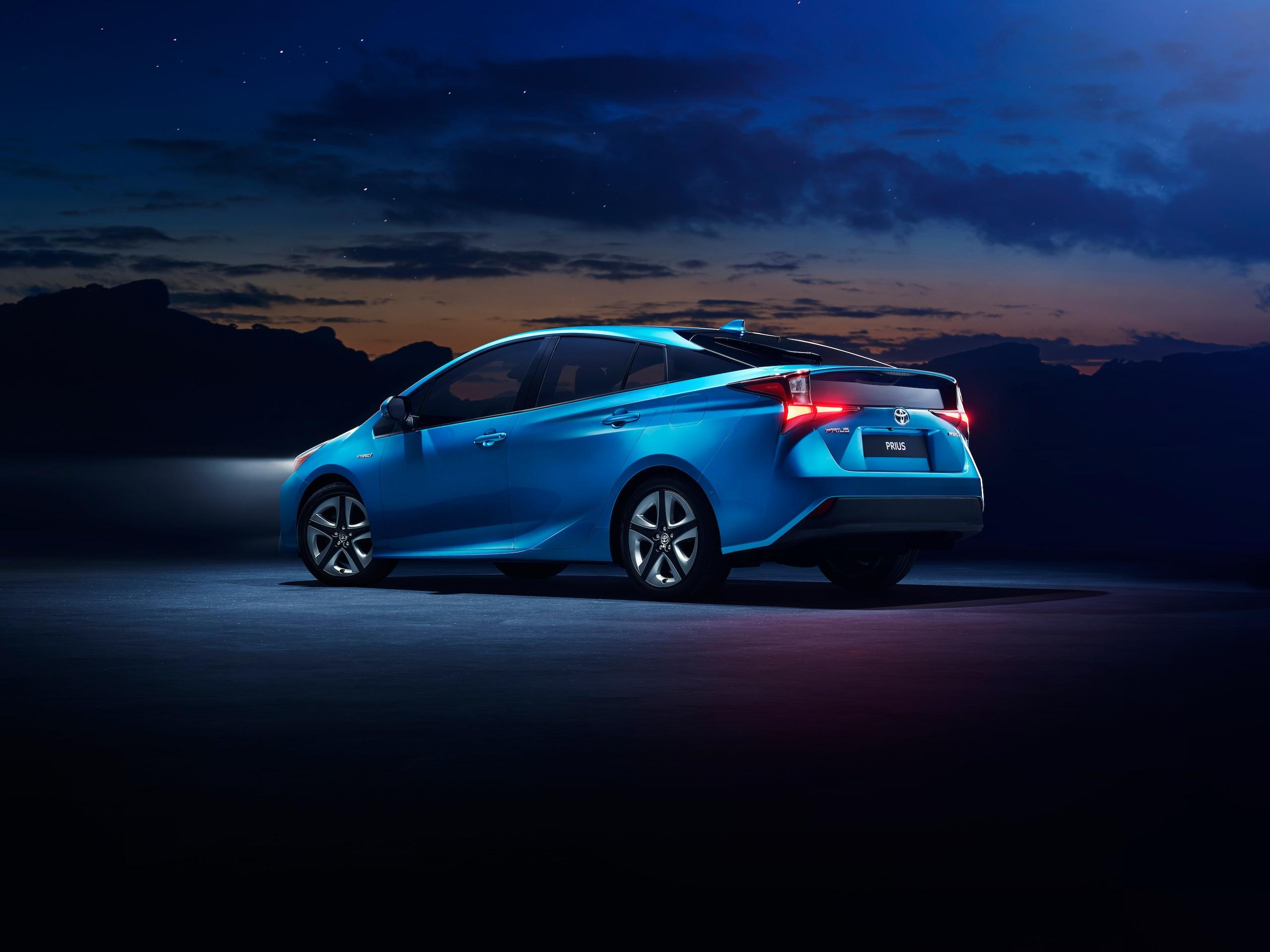 Toyota Prius, trazione integrale intelligente