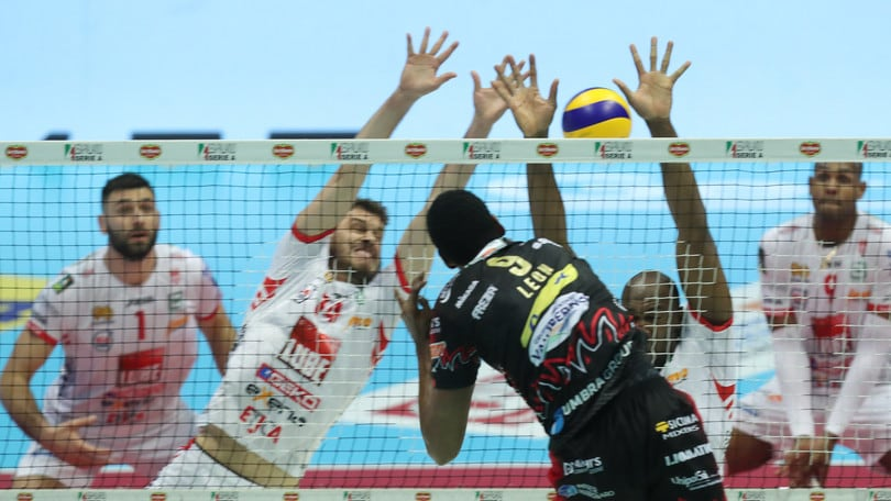 Volley: Superlega, Perugia-Civitanova: inizia la battaglia per il tricolore