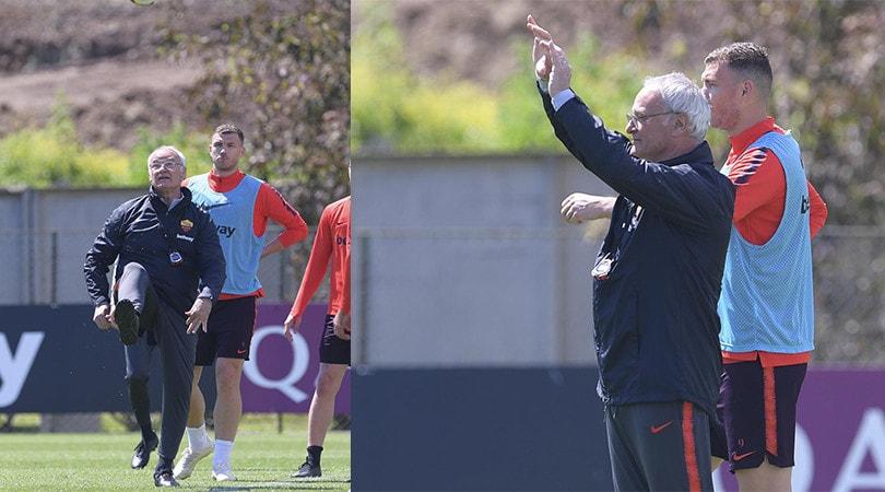 Dzeko e Ranieri: prove tecniche per il Genoa